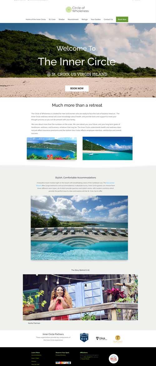 Retreat-Website