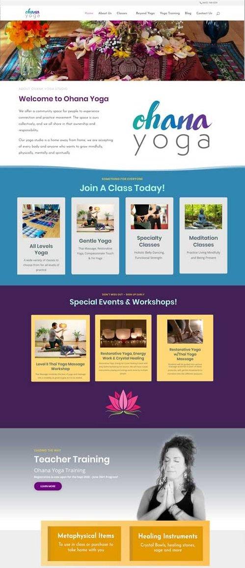 Ohana Yoga Studio and Teacher Training