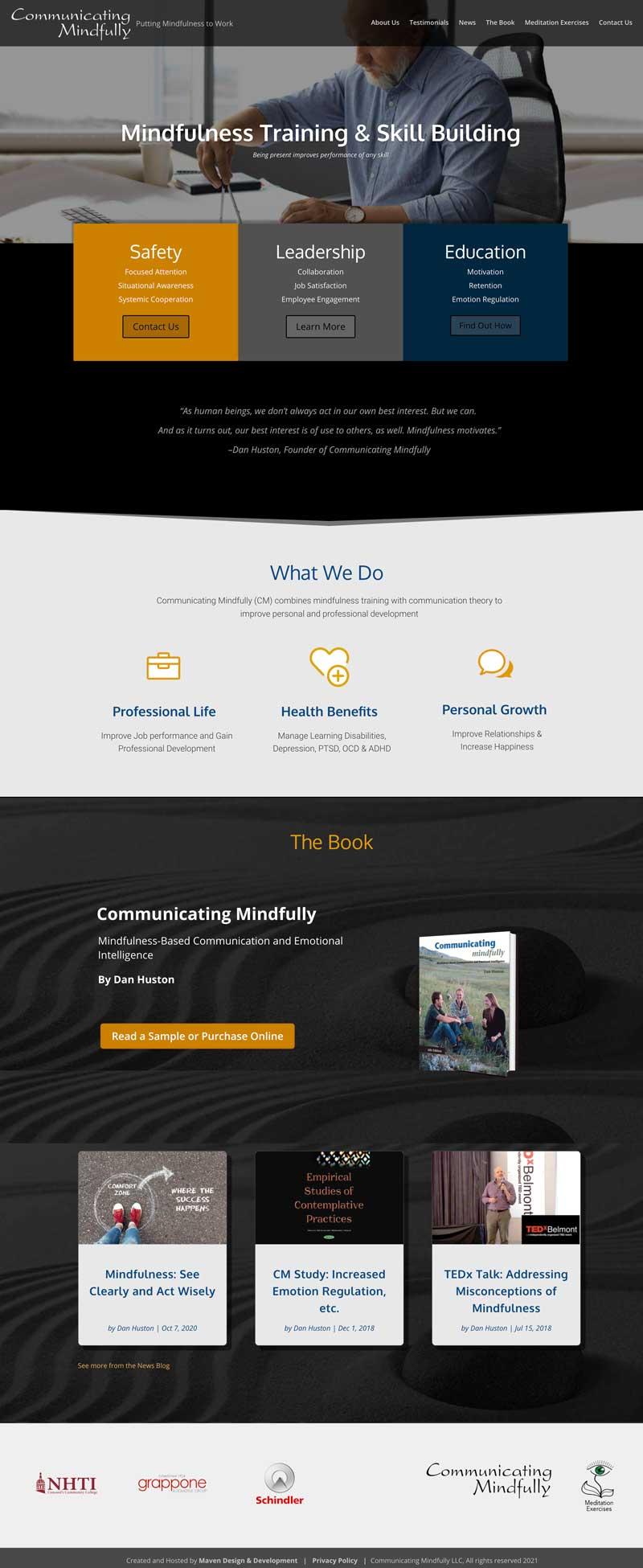 Communicating Mindfully Training Website